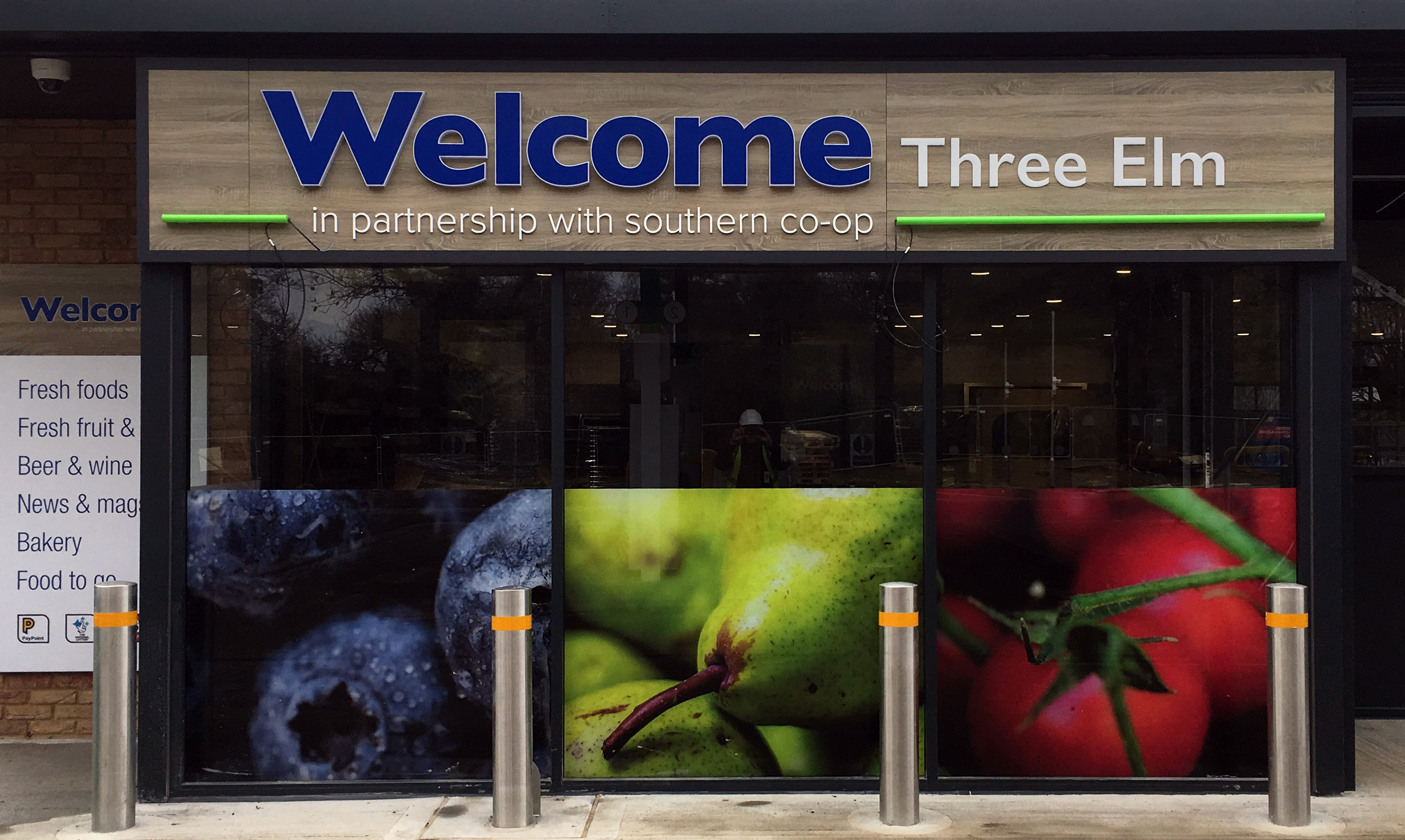 Southern Co-operative exterior signage