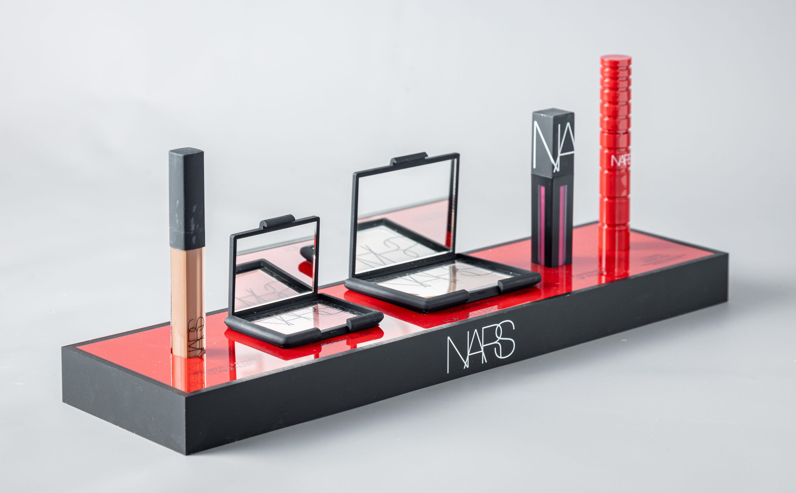 NARS makeup display