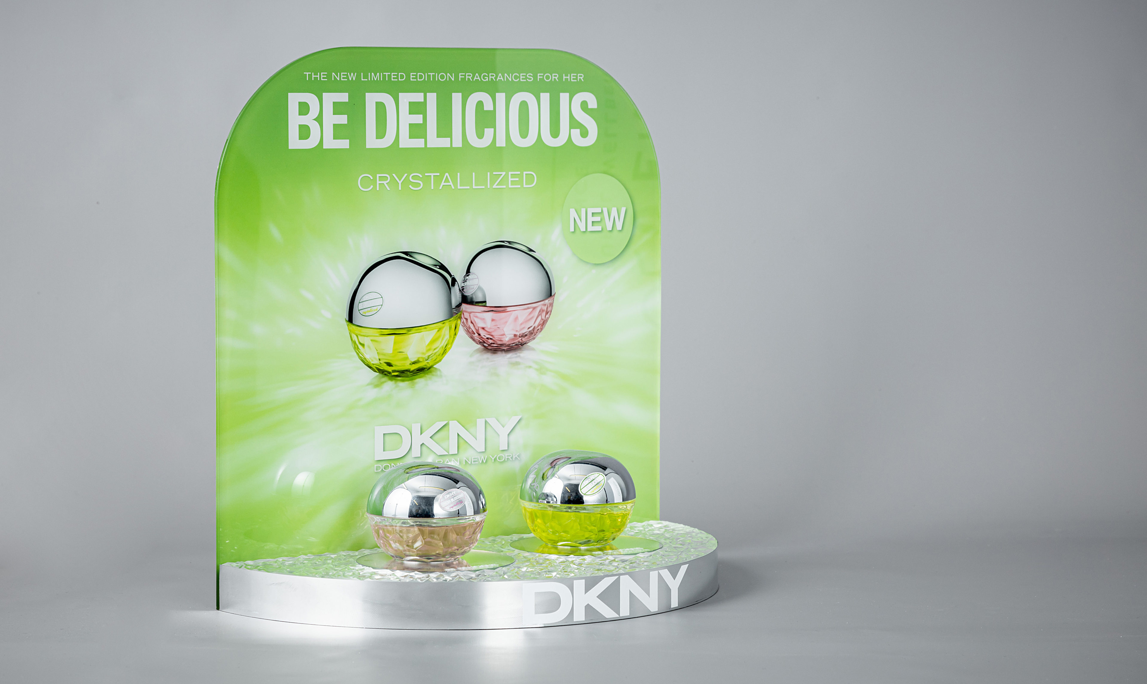 DKNY Perfume stand